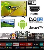 SMART TV 32 pollici Android Arielli Display 32' Led - 1366x768 HD ready - Smart TV Wifi integrato -...