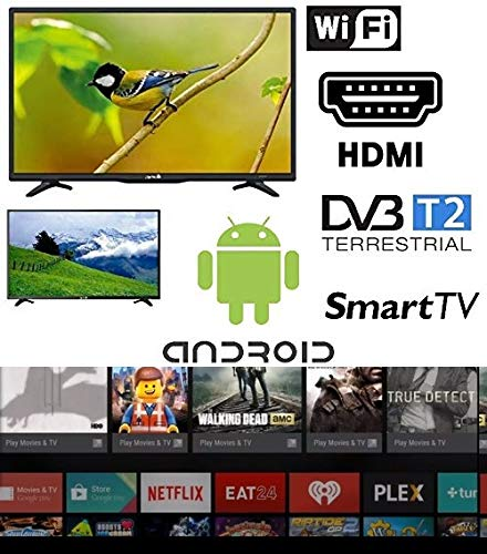 SMART TV 32 pollici Android Arielli Display 32' Led - 1366x768 HD...