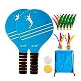 BESPORTBLE Jeu de Paddle Ball avec des Balles Sac de Transport Enfants Enfants Palything Sports Tennis Fournitures de Badminton (Style B)