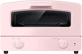 Barbacoa Microondas Compacto Horno, Doble vidrio de cuarzo tubo de la calefacción, Cajón Tipo de la parrilla Net y 1000w Potencia de Cocción, for mesas de trabajo Horno, azul y rosa (color: azul) (Col