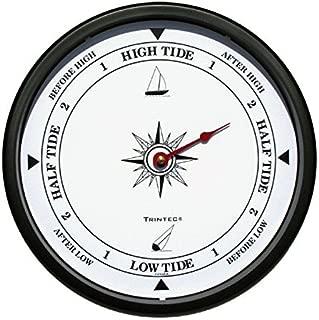 Trintec Atlantic White Tide Indicator Wall Clock 10 in