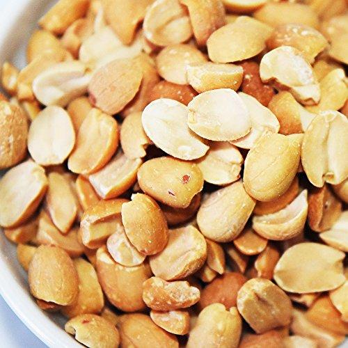ピーナッツ 500g×1袋 小粒 無塩・無添加 二つ割 アルゼンチン産又は南アフリカ産 (500g)