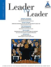 Leader to Leader (LTL), Volume 81, Summer 2016 (J-B Single Issue Leader to Leader)