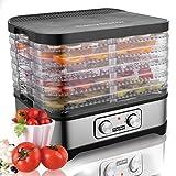Meykey Food Dehydrator Machine Fruit Dehydrater BPA Free 250W