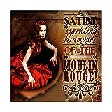 Vintage Francés Bal Au Moulin Rouge Place Blanche Jules French Art Nouveau Theatre Cabaret MOULIN ROUGE JOYEUX Canvas Poster Wall Art Decor Picture Cuadros para Sala Dormitorio Decoración Un