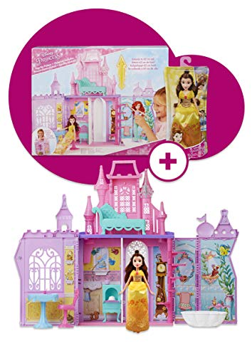 Disney Princess Castillo de Princesas con Bella (Hasbro C6116500) , Color/Modelo Surtido