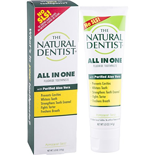 Natural Dentist All-In-One Toothpaste, Peppermint,5 Ounces (Pack of 3)
