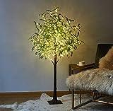 LITBLOOM Lighted Olive Tree 4FT 160...