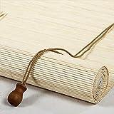 Tapparella ?in Bamboo filtro luminoso Cortina di bambù Tenda a Rullo in bambù Veneziana protezione dal sole e dalla privacy Tendina parasole,avvolgibile romane per finestre e porte (70 x 160 cm)