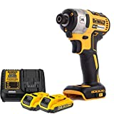 Dewalt DCF887N 18V XR Brushless Impact Driver with 2 x 2.0Ah Batteries & Charger