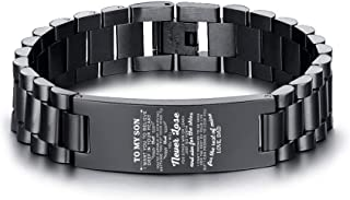 to my son spartan bracelet