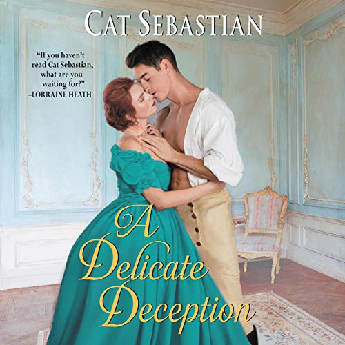 Page de couverture de A Delicate Deception