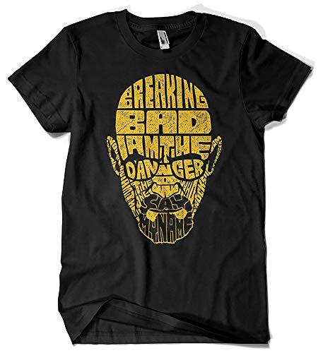 Camisetas La Colmena, 113-Breaking Bad V2 (Negra, M.)