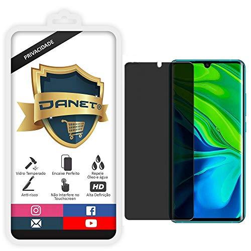 Película De Privacidade Vidro Temperado Para Xiaomi Mi Note 10 e Note 10 Pro Tela 6.67 Proteção Anti Impacto E Curioso Top Spy Premium - Danet