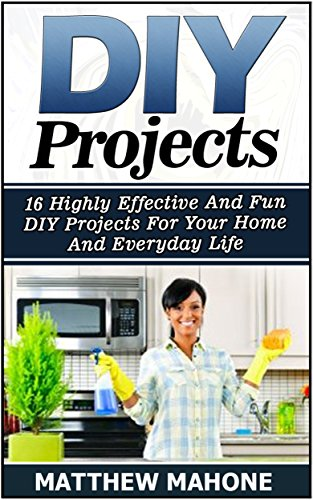 DIY Projects: 16 Highly Effective And Fun DIY Projects For Your Home And Everyday Life (Diy projects, diy projects books, diy for beginners, diy household ... free, household hacks) (English Edition)
