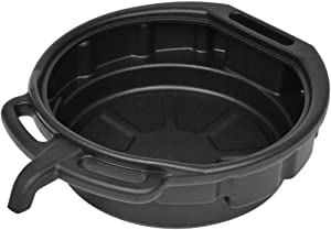 vidaXL Oil Drain Pan with Spout 16L Fluid Recycling Container Tank Drainer