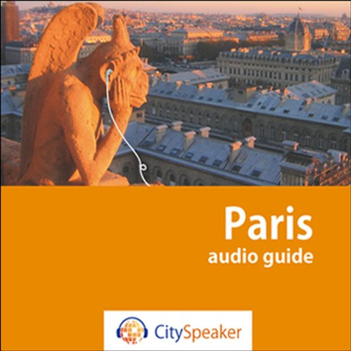 Paris (Audio Guide CitySpeaker) audiobook cover art
