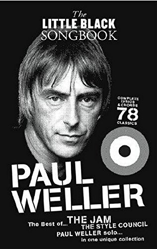 The Little Black Songbook: Paul Weller: Songbook für Gesang, Gitarre