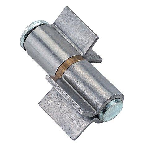 Cremallera para puertas A DOS Ali abiertas con arandela de Latón art. 115LaFayette 90mm para carpintería de hierro