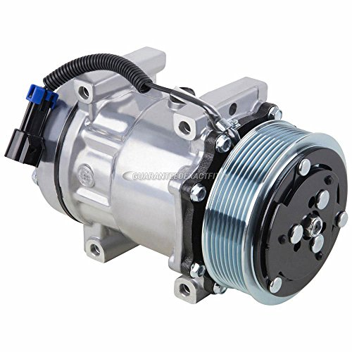 AC Compressor & A/C Clutch For Freightliner Replaces SKI4818 N83-30453S ABPN83-304003 Sanden 4417 4485 4075 - BuyAutoParts 60-02064NA NEW