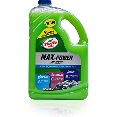 Turtle Wax 50597-4PK MAX-Power Car Wash (100 Ounce, Pack of 4)