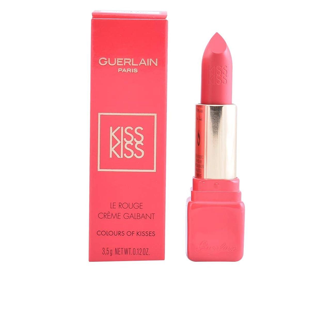 発送送る間違っているゲラン KissKiss Creamy Shaping Lip Colour (Colours Of Kisses) - # 343 Sugar Kiss 3.5g/0.12oz並行輸入品