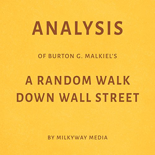 Analysis of Burton G. Malkiel's A Random Walk Down Wall Street audiobook cover art