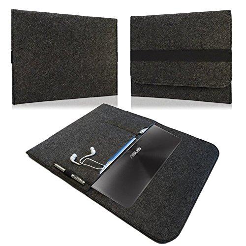 NAUC Für Lenovo E31-70 Tasche Hülle Filz Sleeve Schutzhülle Hülle Cover Bag, Farben:Hell Grau