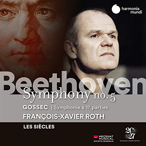 Beethoven: Symphony No. 5-Gossec: Symphonie À Dix-Sept Parties