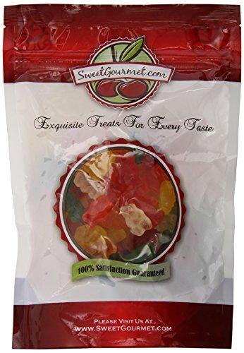 SweetGourmet Assorted Sugar Free Gummi Bears   Bulk Candy Gummy   1 Pound