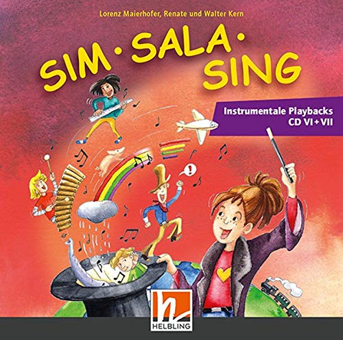 Sim Sala Sing NEU, Ergänzende Instr. Playbacks CD VI + VII: Doppel-CD-Paket