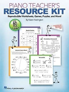 Piano Teacher's Resource Kit: Reproducible Worksheet