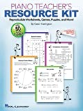 Piano Teacher's Resource Kit: Reproducible Worksheets, Games, Puzzles, and More!
