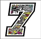 gamesmoneky Adhesive Race - 12 cm - Sticker Bomb - Cross Pista de Coches Pegatinas para Bicicletas (7)