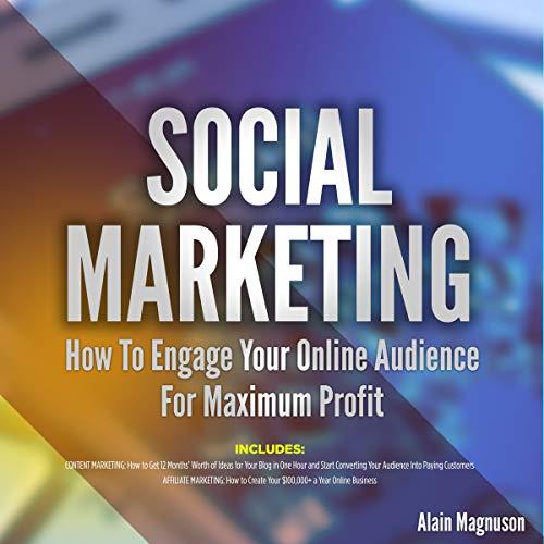 Social Marketing audiobook cover art