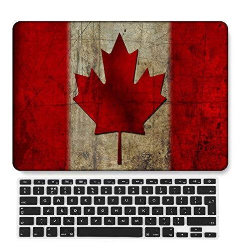 GangdaoCase Plastic Ultra Slim Light Hard Shell Case Cut Out Design Compatible New MacBook Pro 15 inch with Touch Bar/Touch ID with UK Keyboard Cover A1707/A1990 (Geography 66)