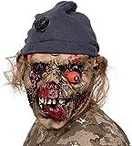 AivaToba Neuheit Latex Rubber Creepy Horror Kopf Masken Gesicht Schrecklich für Halloween Kostüm...