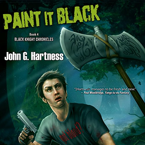 Paint it Black audiobook cover art