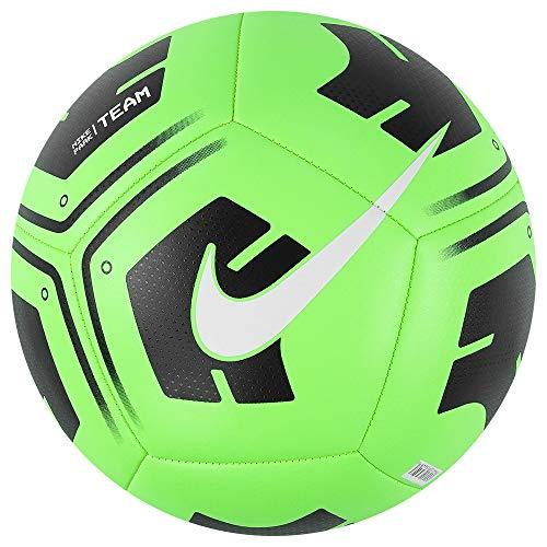 Nike Unisex-Adult NK Park-Team Recreational Soccer Ball, Rage Green/Black/(White), 5