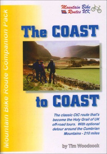 The Coast-to-coast Mountain Bike Route Pack (Mountain bike route companion packs) by Woodcock, Tim Published by Mountain Bike Routes UK (1999)