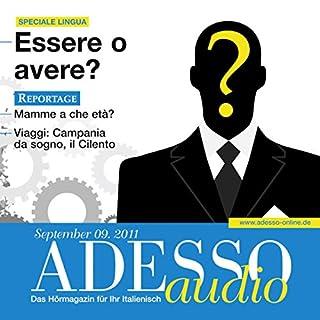 ADESSO Audio - Verbi ausiliari: Essere o avere. 9/2011 Titelbild