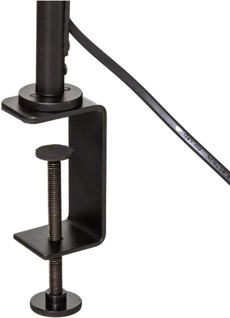 Atmosphera Lampe Pince en m/étal Noir H 50 cm