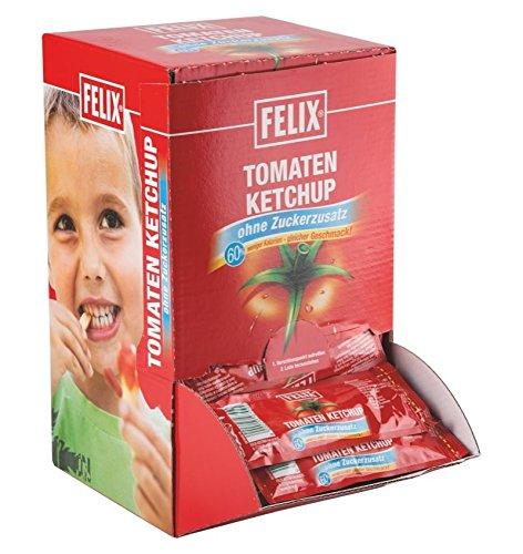 Felix Port.Ketchup 100x20g, o. Zucker