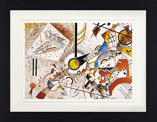 1art1 Wassily Kandinsky - Ohne Titel, 1923 Gerahmtes Bild Mit Edlem Passepartout | Wand-Bilder | Kunstdruck Poster Im Bilderrahmen 40 x 30 cm