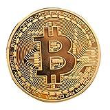 ArtkticaSupply 1Pcs Copper Bitcoin Model...