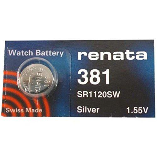 Renata SR1120SW - Pila para reloj (1.55 V)