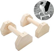 Stretch-St/änder Handst/änder russischer Stil H-f/örmige Liegest/ützgriffe aus Holz Holz-Paralletten Holz-Push-Ups Calisthenics personalisierbare Bars
