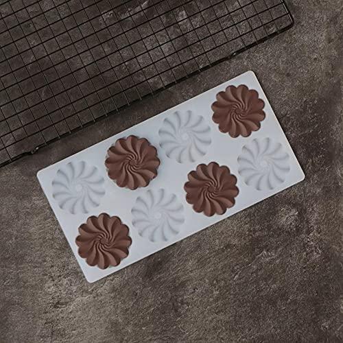 RTYY Rüschen Blumenform Silikonform Dekorieren Schokolade Dessert Garnieren Transfer Sheet Schablone