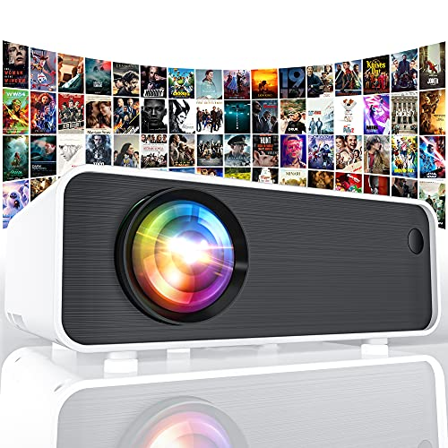 P18 Full HD Movie Projector, 1080P and 200