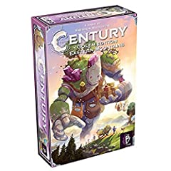 Sequel to the cult hit Century: Golem edition Includes rules for a unique mixable game that combines both games Ages 8 and up For 2 to 4 players Playable in 30 to 45 minutes